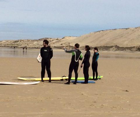 surfen Biscarrosse